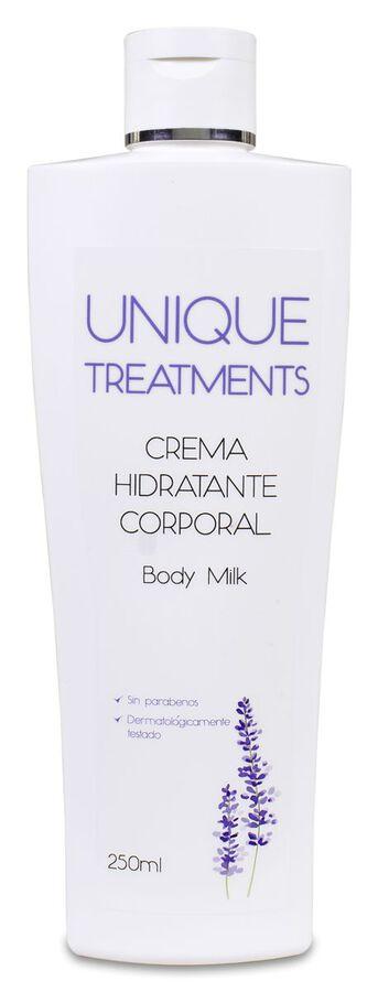 Unique Crema Hidratante Corporal, 250 ml