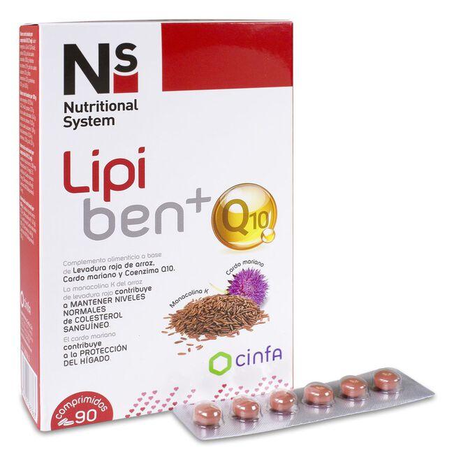Ns Lipiben + Q10, 90 Comprimidos