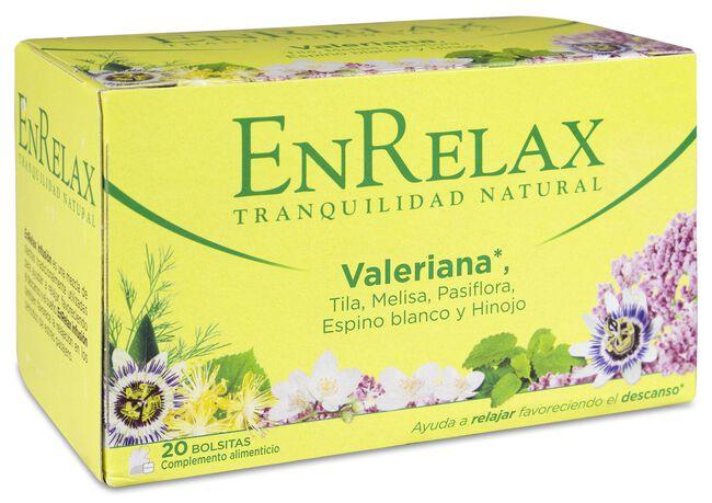EnRelax Infusión Valeriana, 20 Uds