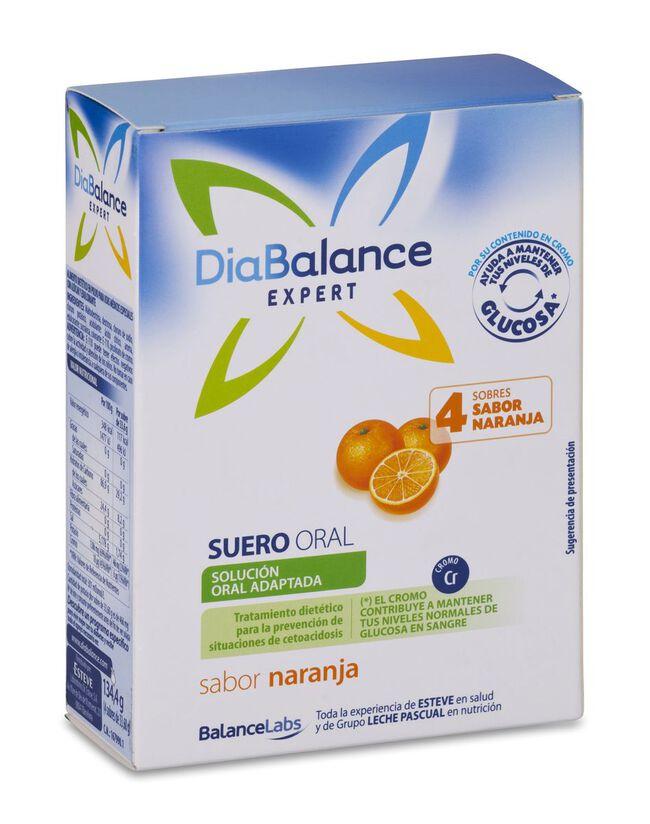 Diabalance Expert Suero Oral, 4 Uds