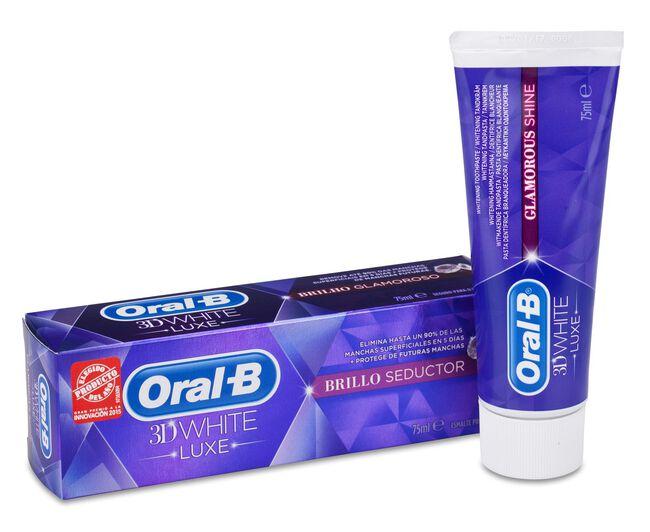 Oral-B 3D White Pasta Dental Luxe Brillo Seductor, 75 ml