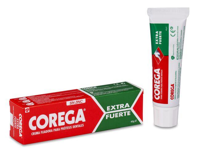 Corega Extra Fuerte Adhesivo Prótesis Dental, 40 ml