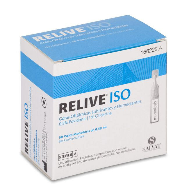 Relive Iso, 30 Uds