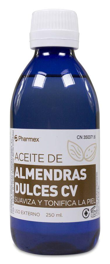 Pharmex Aceite de Almendras Dulces CV, 250 ml