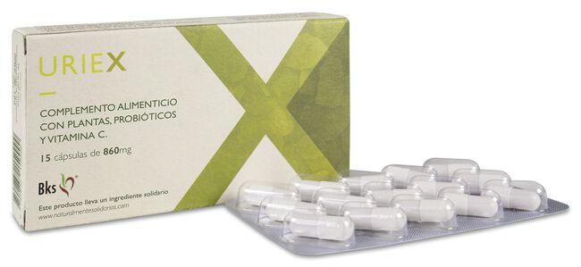 Uriex, 15 cápsulas
