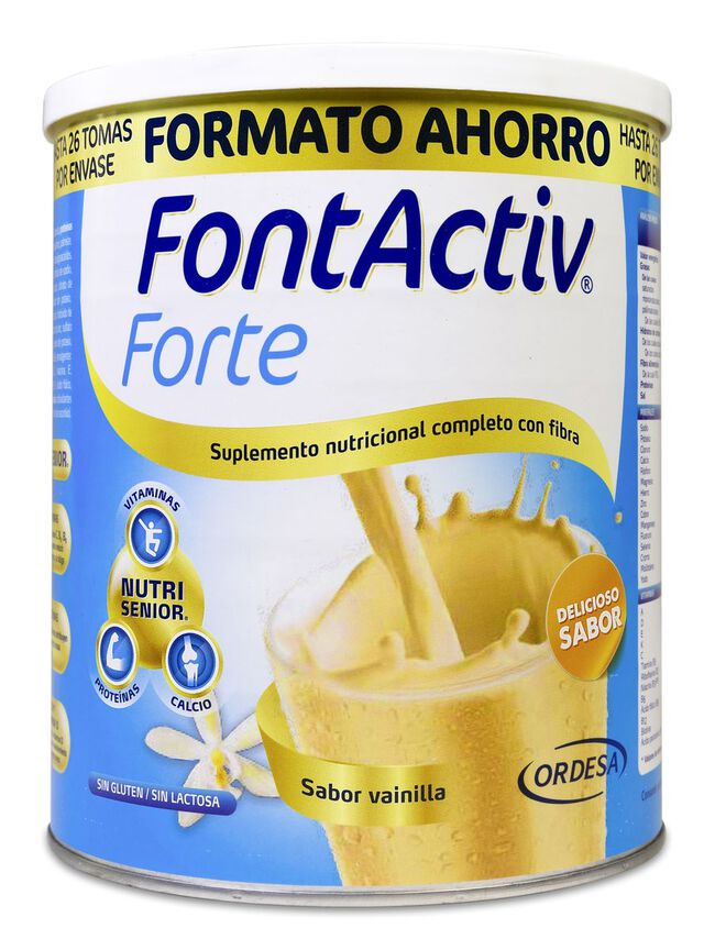 FontActiv Forte Vainilla Bote, 800 g
