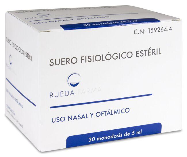 Edda Pharma Suero Fisiológico 5 ml, 30 Uds
