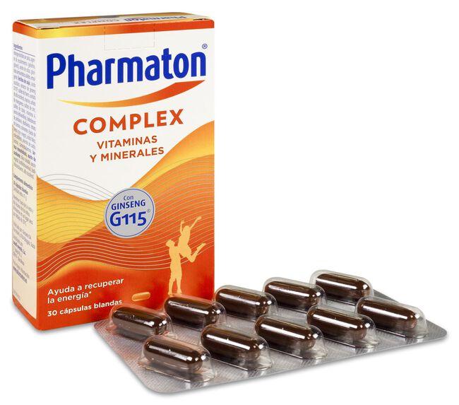Pharmaton Complex, 30 Cápsulas image number null
