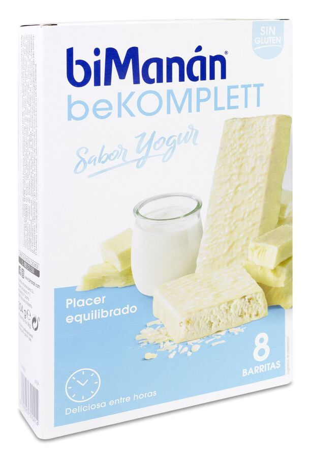 biManán beKomplett Yogur, 8 Uds