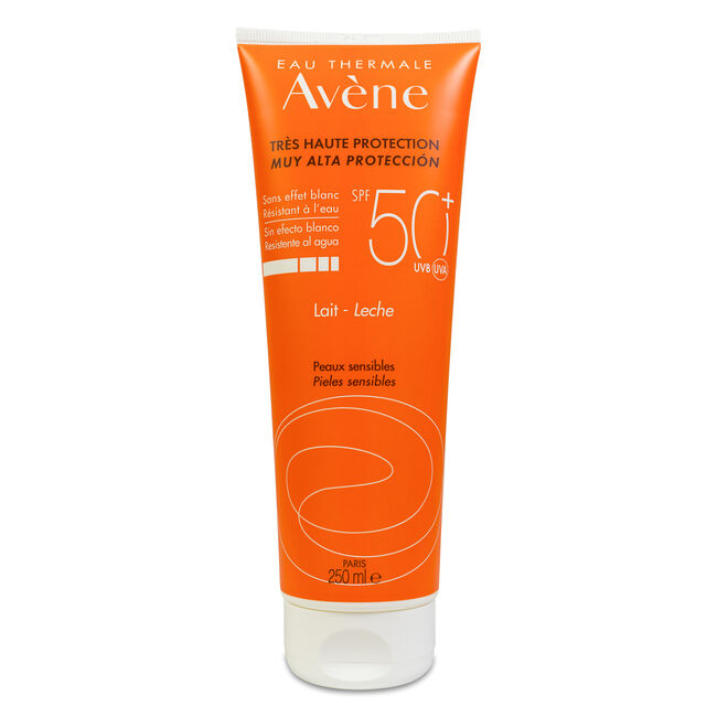 Avène Solar Leche Adulto SPF 50+, 250 ml