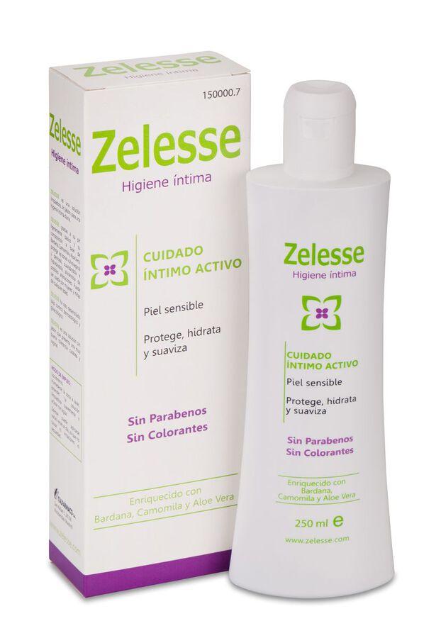 Zelesse Solución Limpiadora Higiene Íntima, 250 ml