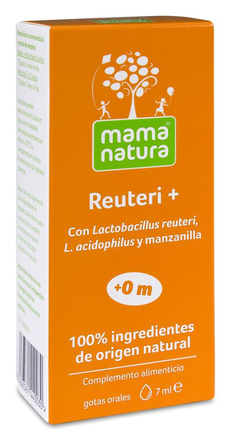 Mama Natura Reuteri+ Gotas, 7 ml