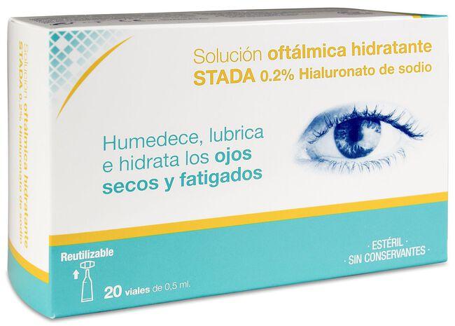Care+ Solución Oftálmica Hidratante, 20 Viales