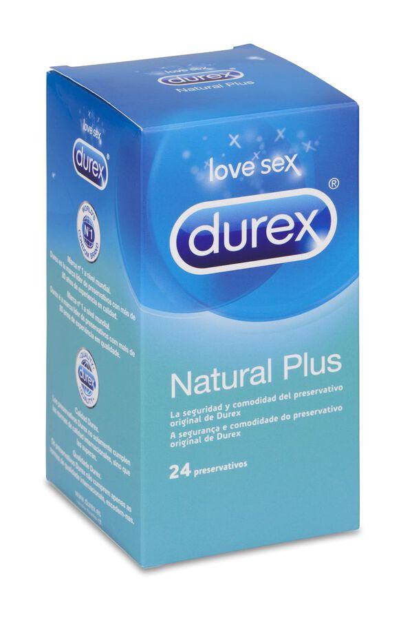 Durex Natural Plus, 24 Uds