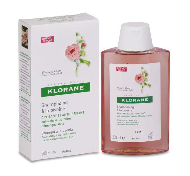 Klorane Champú Calmante Al Extracto de Peonía, 200 ml
