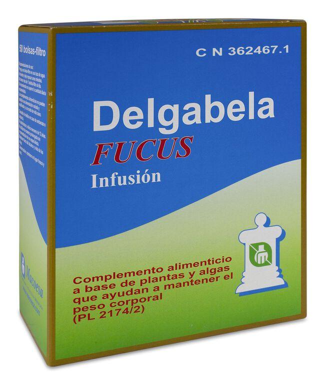 Delgabela Fucus Infusión Adelgazante, 50 Uds