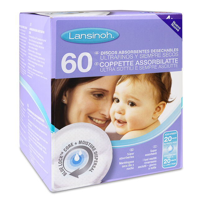 Lansinoh Discos Absorbentes Desechables
