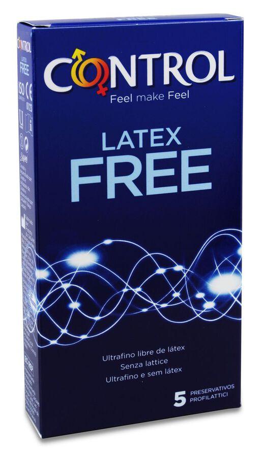 Control Latex Free, 5 Uds