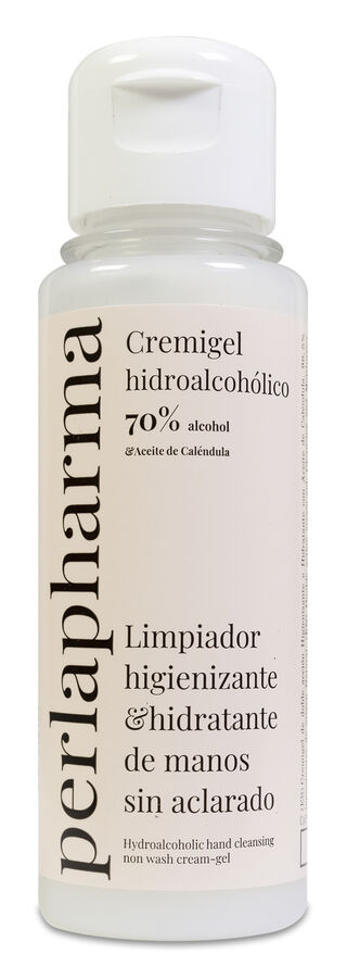 Perlapharma Cremigel Hidroalcoólico Cosmético con Aceite de Caléndula, 100 ml