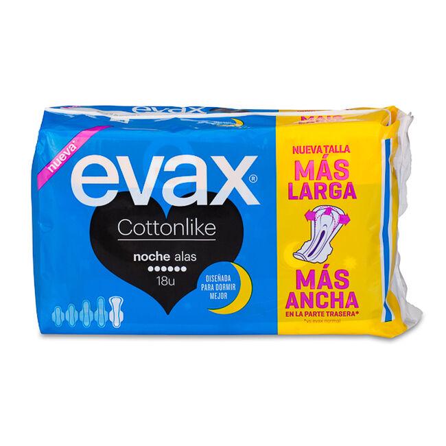Evax Cottonlike Noche con Alas, 18 Uds