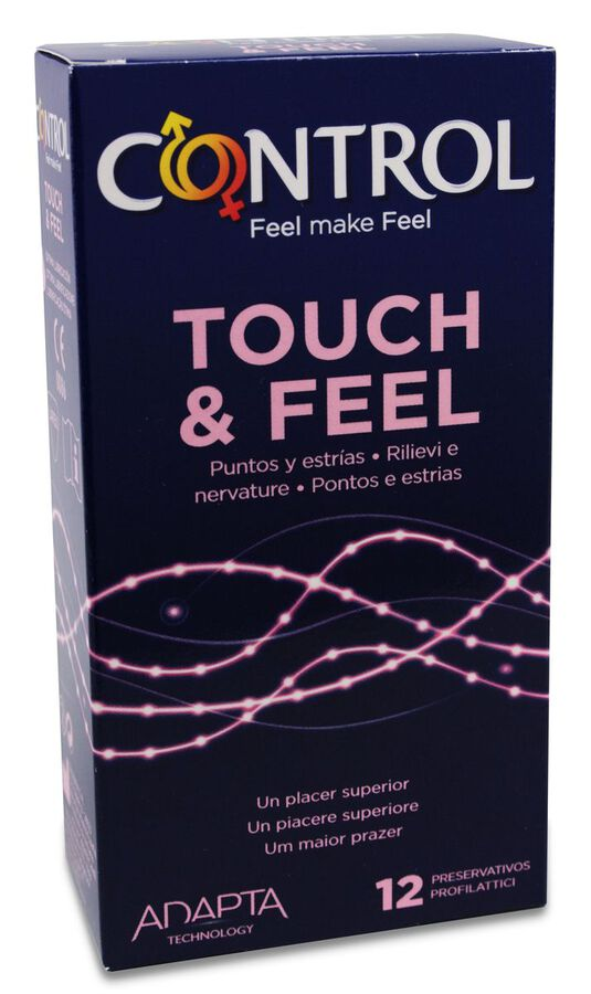 Control Touch & Feel, 12 Uds