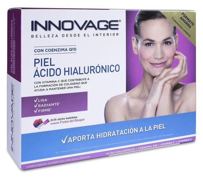 Innovage Piel Ácido Hialurónico, 2 x 15 Sticks