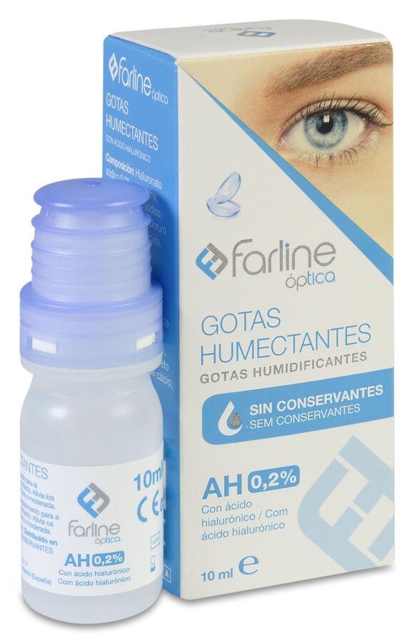 Farline Gotas Humectantes 0,2% AH APTAR, 10 ml