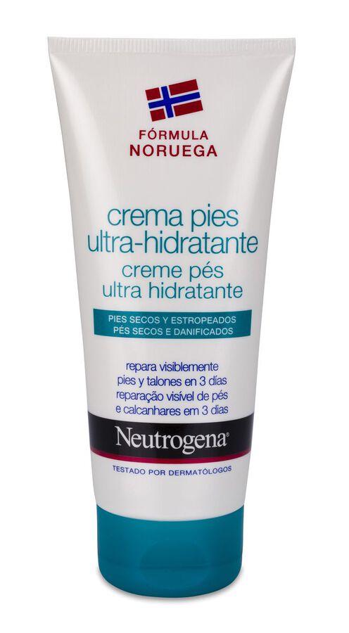 Neutrogena Crema de Pies Ultra-Hidratante, 100 ml