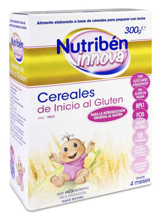 Nutribén Innova Cereales de Inicio al Gluten, 300 g