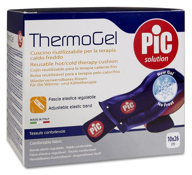 Pic Solution Thermogel Cojin Gel Frío/Calor 10x26 cm, 1 Ud