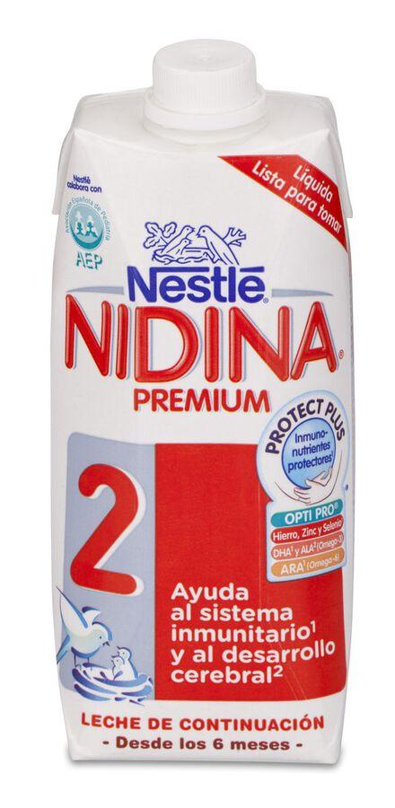 Nidina Premium 2 Líquida, 500 ml