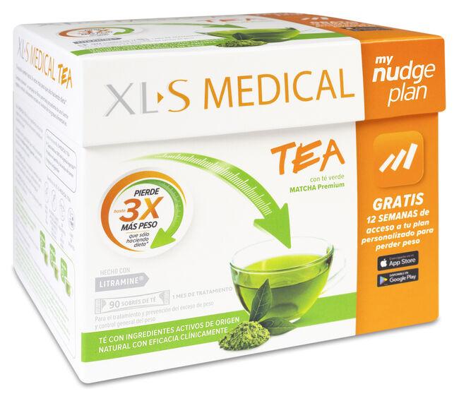 XLS Medical Tea con Té Verde, 90 sobres