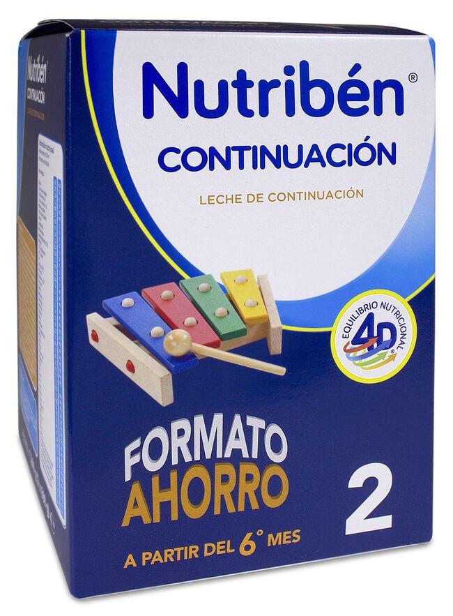 Nutribén Continuación 2 Formato Ahorro, 1200 g