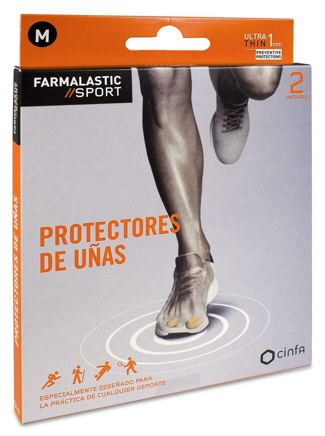 Farmalastic Sport Protector Uñas Talla M, 2 Uds