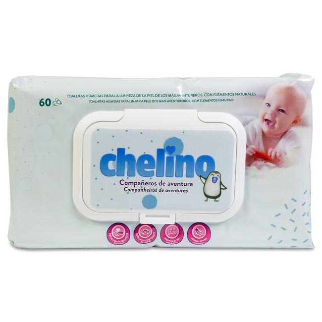 Chelino Toallitas Infantiles F&L, 60 Uds