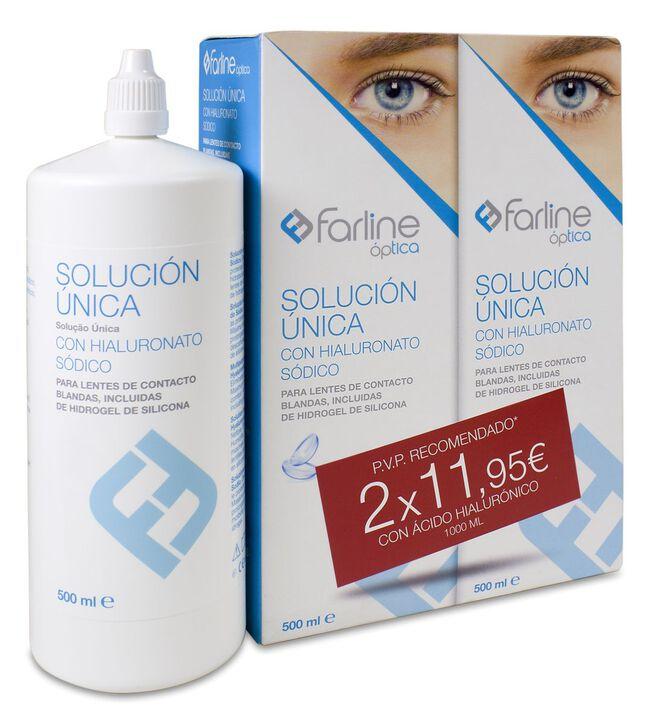 Pack Farline Solución Única AH, 500 ml, 2 Uds