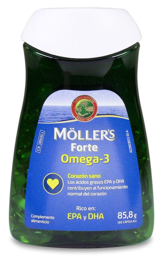 Möller's Forte Omega-3, 60 Cápsulas