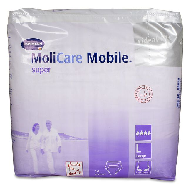 Molicare Mobile Súper L, 14 Uds