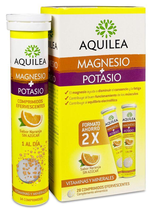 Aquilea Magnesio + Potasio, 28 Comprimidos