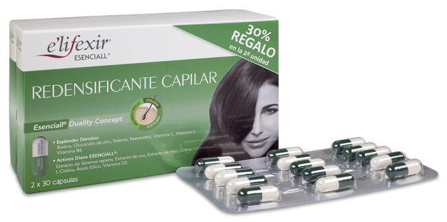 Pack e'lifexir Redensificante Capilar, 2 x 30 Cápsulas