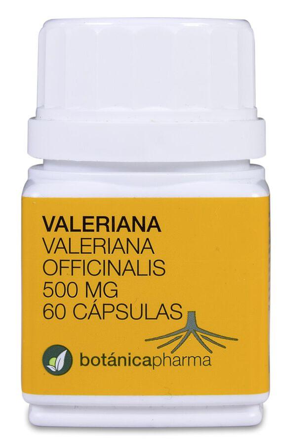 Botánicapharma Valeriana 500 mg, 60 Cápsulas