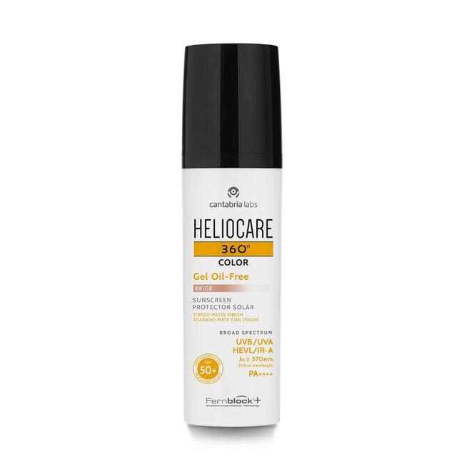 Heliocare 360º Gel Oil-free SPF 50+ Tono Beige, 50 ml
