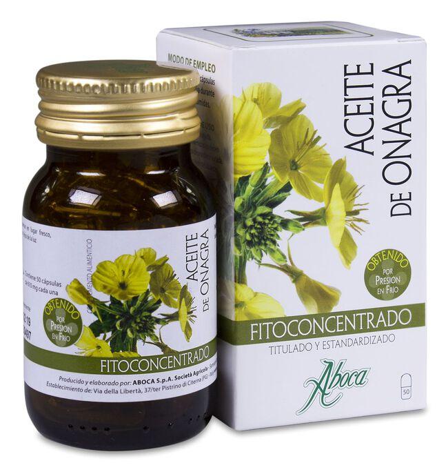 Aboca Aceite de Onagra Fitoconcentrado, 50 Cápsulas