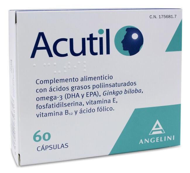 Acutil, 60 Cápsulas