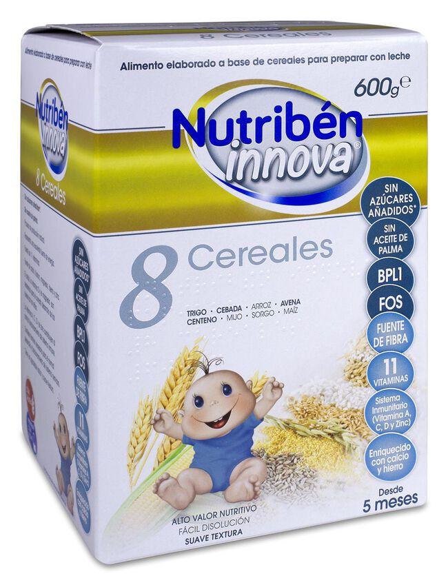 Nutribén Innova 8 Cereales, 600 g image number null