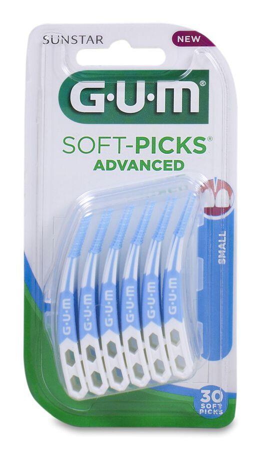 GUM Soft-Picks Advanced Small, 30 Uds
