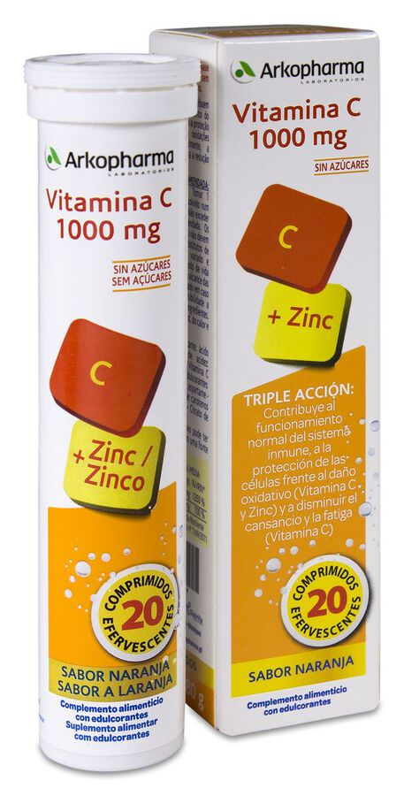 Arkopharma Arkovital Vitamina C 1000 mg, 20 Comprimidos