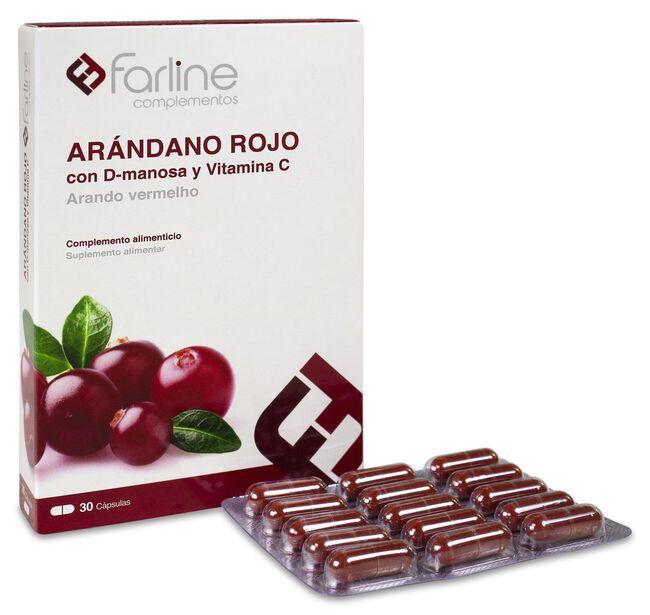 Farline Arándano Rojo, 30 Cápsulas