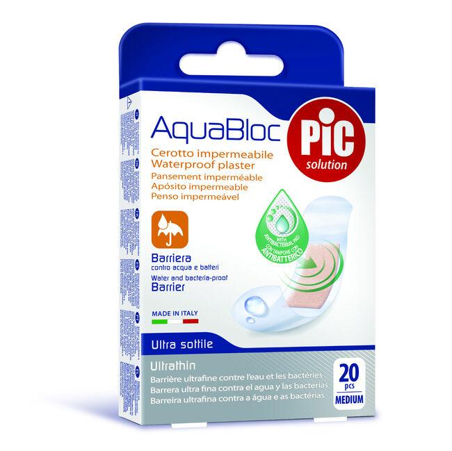 Pic Apósitos Aquabloc 19x72 mm, 20 Uds