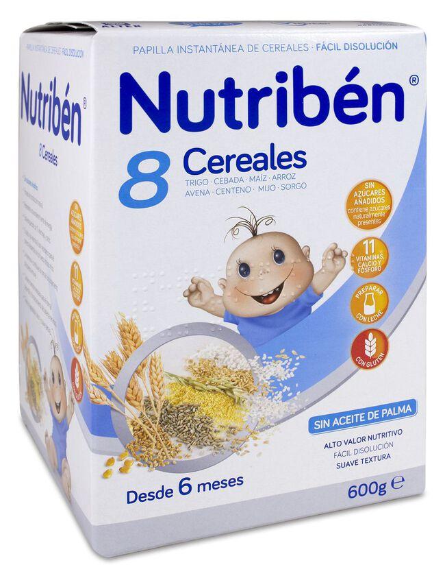 Nutribén 8 Cereales, 600 g